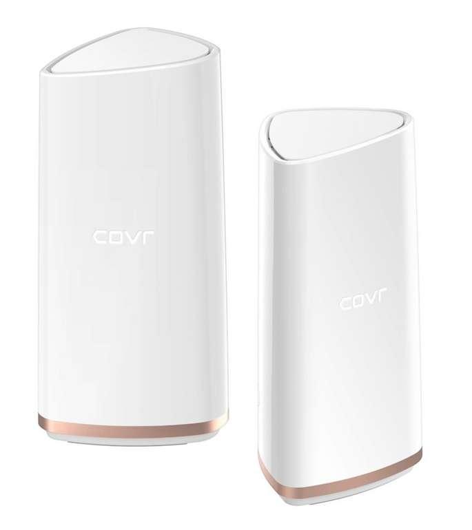 D-Link COVR-2202 AC2200 Tri-Band Wi-Fi System WLAN Repeater 2.4GHz, 5GHz für 49,99€ (statt 165€)