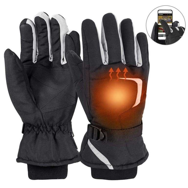 Fylina (Ski-)Handschuhe (Touchscreen, wasserdicht) für 4,99€ (Prime)