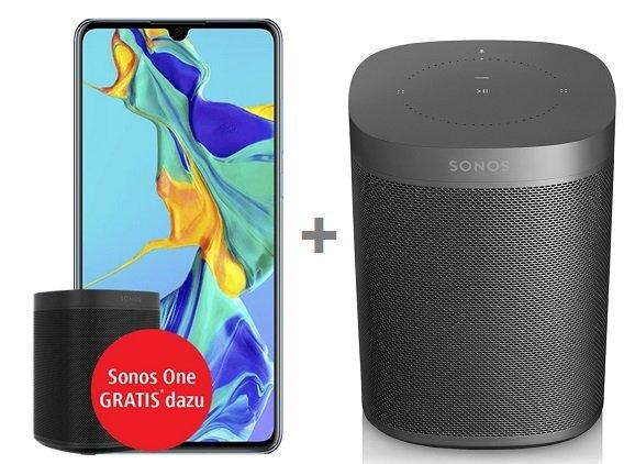Vodafone Smart XL mit 11GB LTE + Huawei P30 Pro + 2 Sonos One für 46,99€ mtl.