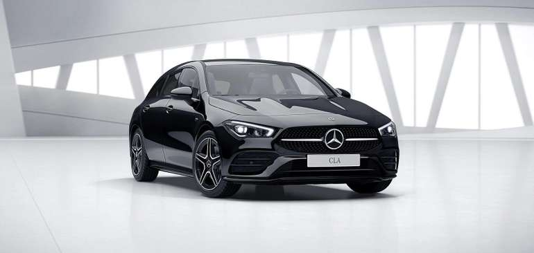 Gewerbe: Mercedes Benz CLA 250 e für 229,86€ Netto mtl. leasen (BAFA, LF: 0,56)