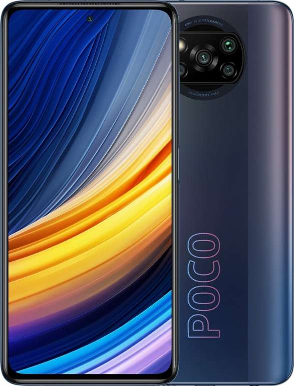 Xiaomi Poco X3 Pro mit 128 GB (29€) + Blau Allnet L mit 5 GB LTE (Allnet-Flatrate) für 12,99€ mtl.
