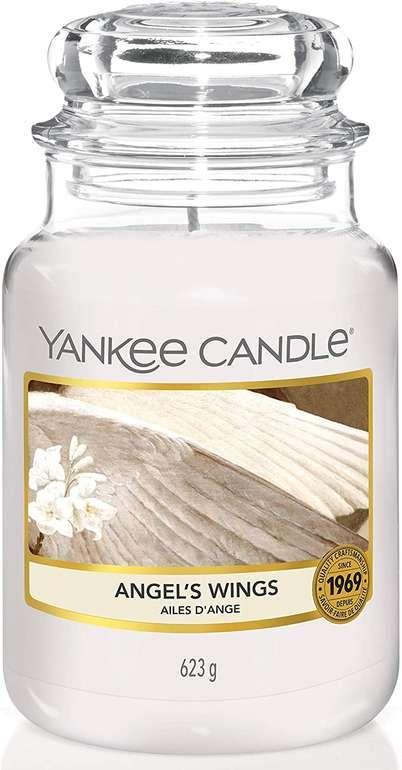 Yankee Candle Kerzen (623g) verschiedene Sorten, z. B. Angel's Wings für 14,21€ (statt 25€) - Newsletter!