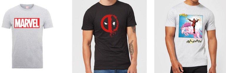 10 verschiedene Marvel T-Shirts