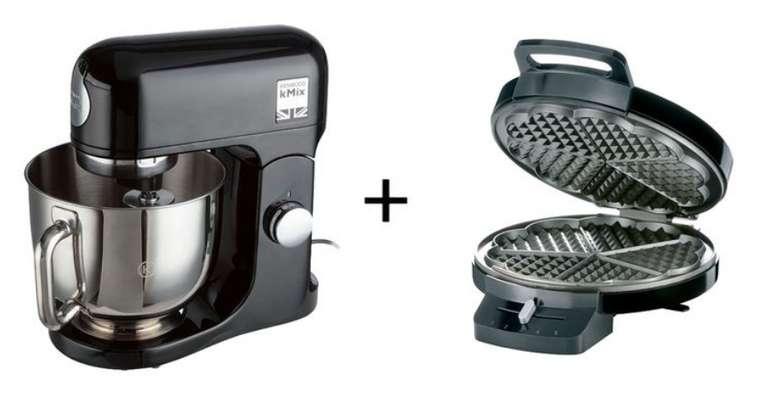 Kenwood Küchenmaschine (KMX750AB) + Silvercrest Waffeleisen für 251,32€ inkl. Versand (statt 300€)