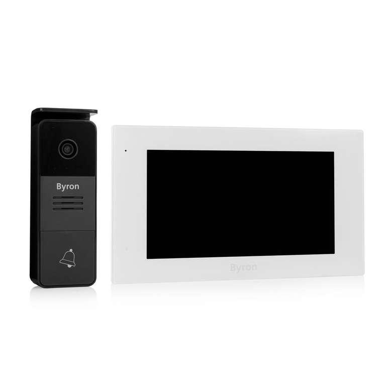 Byron Video-Türsprechanlage DIC-25712 für 88€ inkl. Versand (statt 131€)