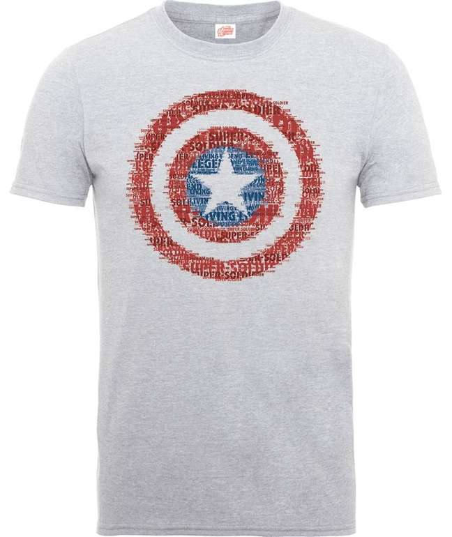 10 verschiedene Marvel T-Shirts für je 9,99€ inkl. Versand (statt 19€)