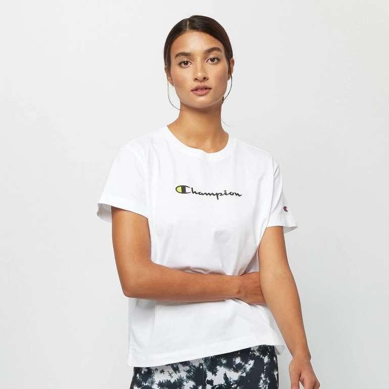 Champion Brand Manifesto Crewneck Damen T-Shirt für 19,75€ inkl. Versand (statt 26€)