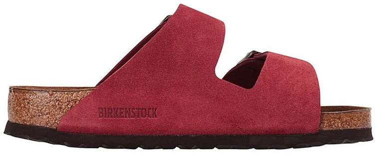 Birkenstock Arizona Sandalen in bordeaux