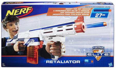 Hasbro Nerf N-Strike Elite + Logona Handcreme für 20,78€ inkl. VSK (statt 28€)