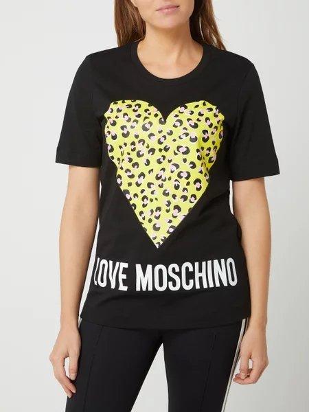 Love Moschino Damen T-Shirt mit Herz-Print für 47,99€ inkl. Versand (statt 59€)