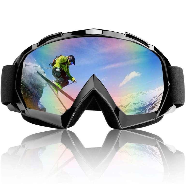 TolleTour Unisex Skibrille mit UV-Schutz für 9,59€ inkl. Versand (statt 16€)