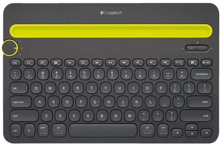 Logitech K480 Tastatur in Schwarz für 26,98€inkl. Versand (statt 39€)