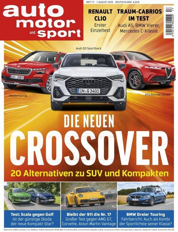 3 Monate Auto Motor und Sport (7 Ausgaben) für 27,30€ + 39€ Scheck