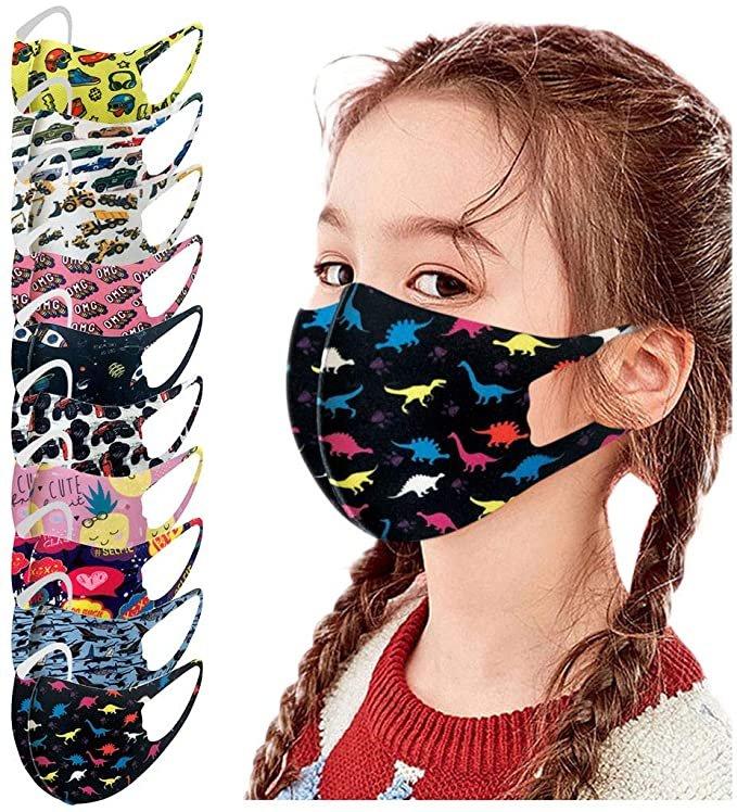 Eaylis 10er Pack Kinder Mund-Nase-Masken oder Zubehör ab 4,75€ inkl. Versand