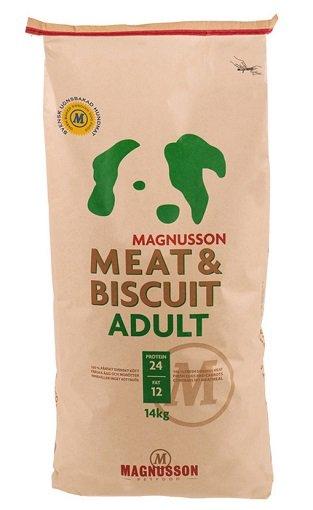 14 kg Magnusson Meat und Biscuit ADULT Trocken-Hundefutter für 42,92€ inkl. VSK