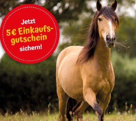 Kostenlose Josera Pferdefutter-Probe + 5€ Einkaufsgutschein