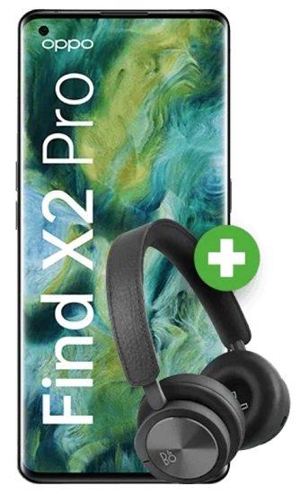 Oppo Find X2 Pro + B&O H8i Kopfhörer (+ 59€) inkl. o2 Unlimited-Flat mit unendlich LTE für 59,99€ mtl