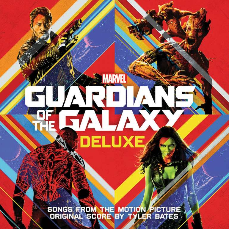 Guardians of the Galaxy: Awesome Mix Vol. 1 (Deluxe Edition, CD) für 10,98€ inkl. Versand (statt 15€)