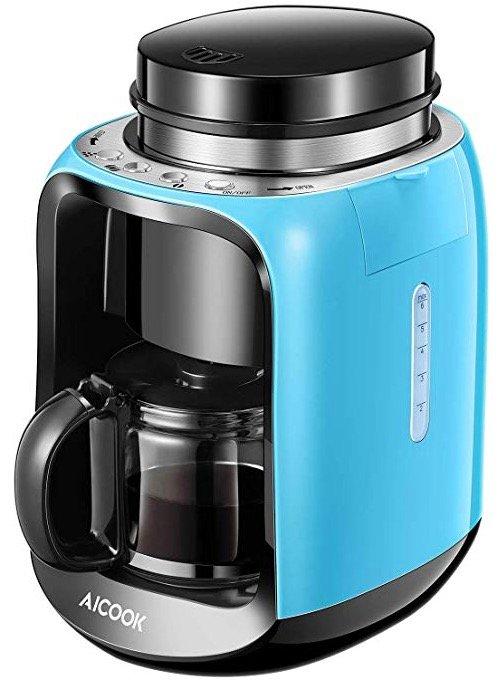Aicook Kaffeemaschine mit Mahlwerk für 39,83€ inkl. Versand