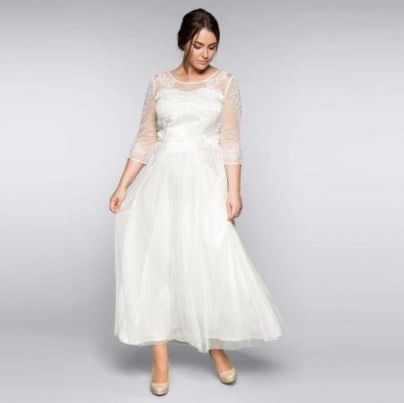 25% Muttertags-Rabatt auf Mode bei Sheego, z.B. Abendkleid für 154,20€