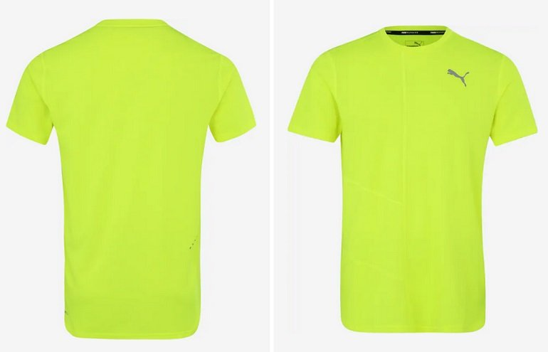 Puma Funktionsshirt Ignite in Gelb