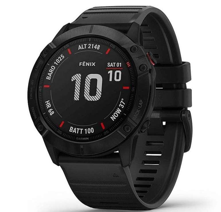 Bestpreis: Garmin Fenix 6X Pro Sportuhr mit GPS & Herzfrequenzmessung für 519,99€ (statt 600€)