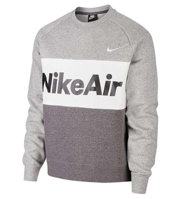 Nike Herren Sweatshirt Air Fleece Crew in 3 Farben für je 42,22€ inkl. Versand (statt 65€)