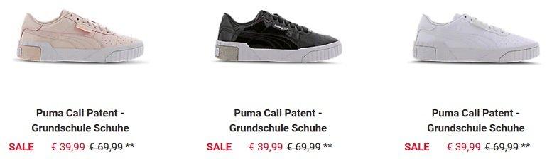Puma Cali Patent Sneaker
