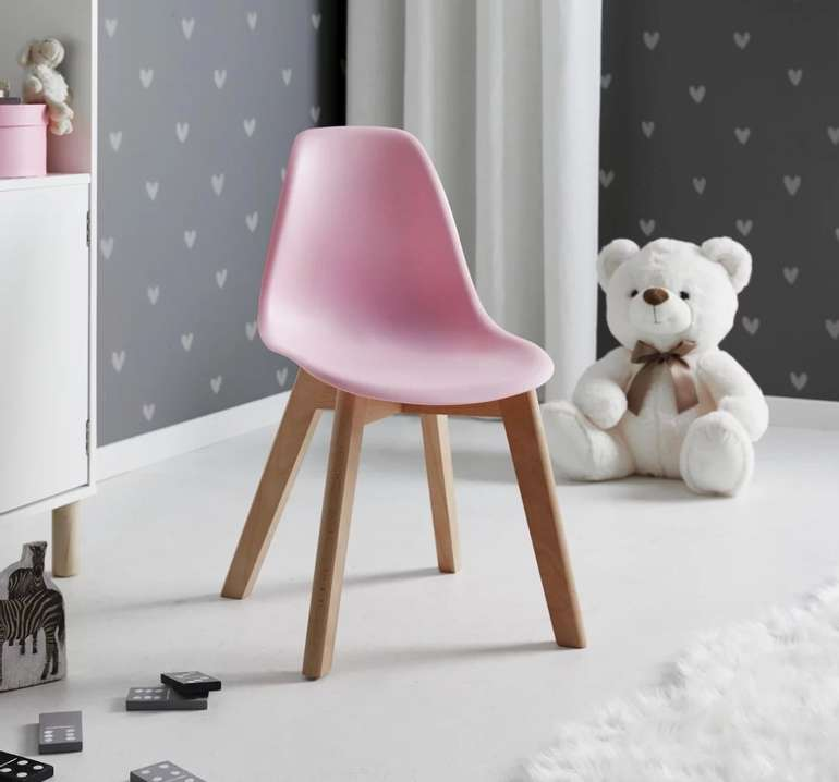 2x Bessagi Kids - Kinderstuhl Tibby in Rosa für 26,81€ inkl. Versand (statt 46€)
