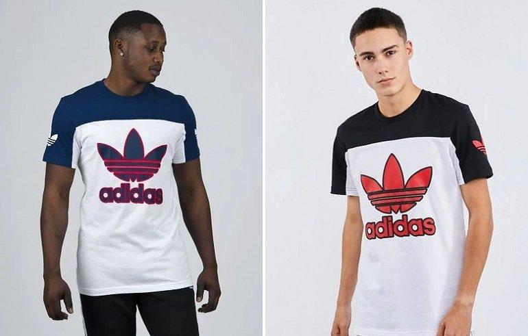 adidas Seventy Four Trefoil Herren T-Shirts