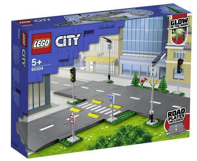 Lego® City Straßenkreuzung mit Ampeln (60304) für 15,99€ inkl. Versand (statt 20€) - Thalia Club!