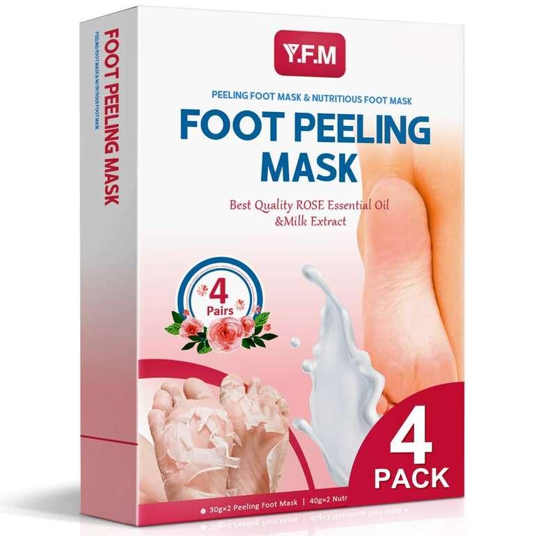 Y.F.M Fußmaske zur Hornhautfernung & Pflege für 7,69€ inkl. Prime Versand (statt 14€)