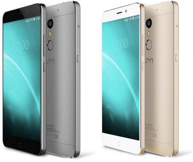 Umi Super - 5,5 Zoll Smartphone (4GB/32GB) in Gold/Grau für 79,99€ inkl. VSK