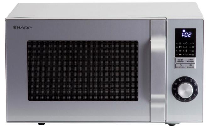 Sharp R644S – 23 Liter Mikrowelle mit 1.000 Watt Grill für 69,90€ (statt 79€)