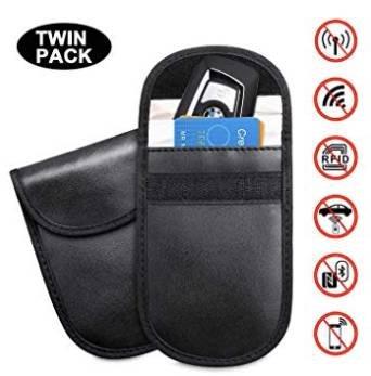 2er pack tendak keyless go autoschl ssel schutz tasche f r. Black Bedroom Furniture Sets. Home Design Ideas