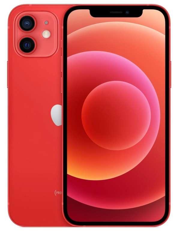Amazon Prime Day: Apple iPhone 12 5G mit 128GB Speicher in Rot für 739€ inkl. Versand (statt 819€)