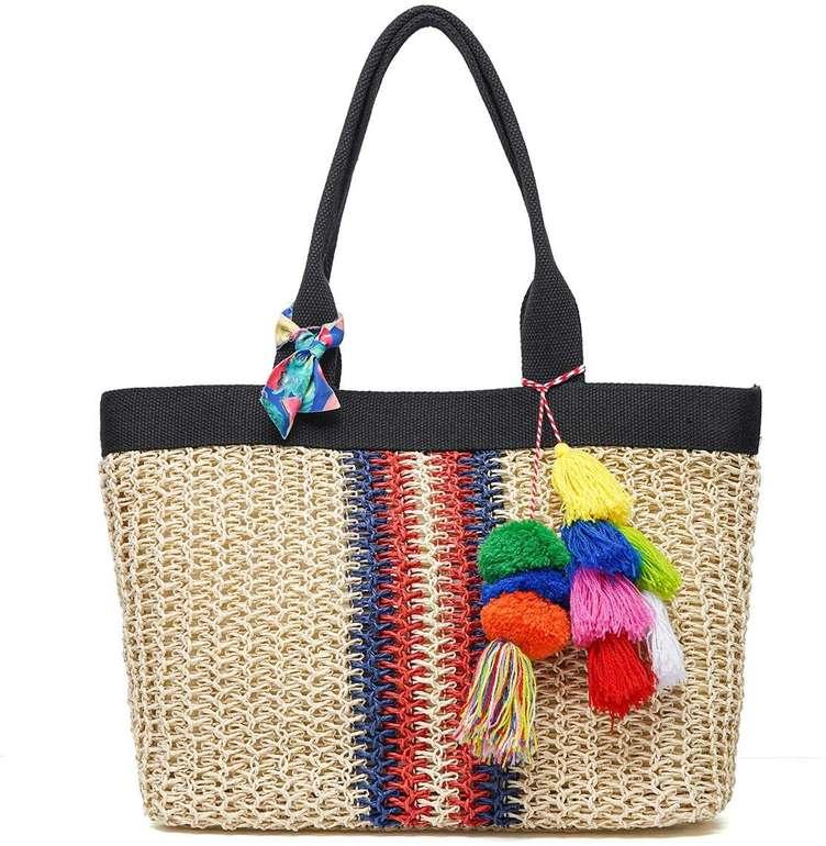 Joseko Stroh Strandtasche für 13,79€ inkl. Prime Versand (statt 23€)