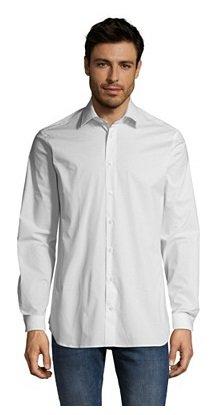 Van Laack Sale mit bis zu 70% Rabatt, z.B. Herren Hemd in Weiß für 59,99€