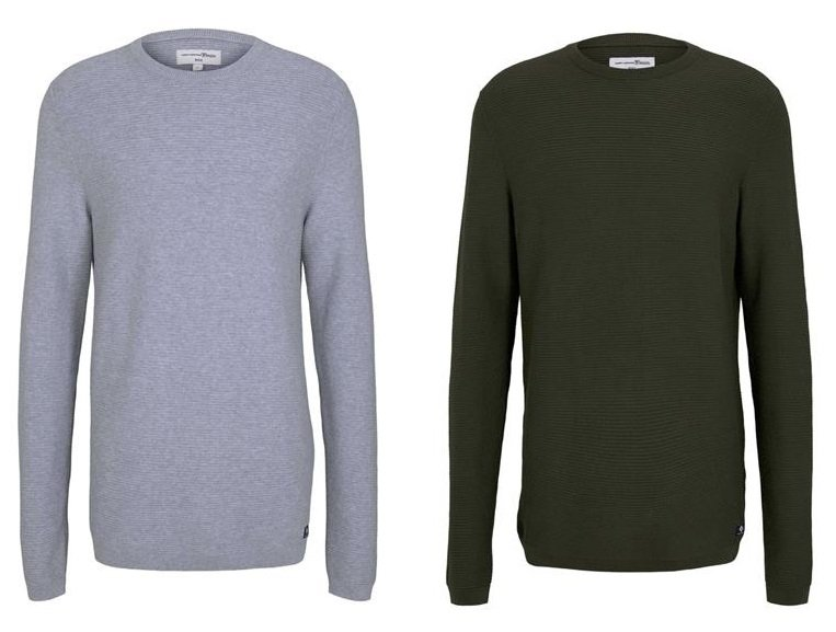 Tom Tailor Denim Herren Pullover 2