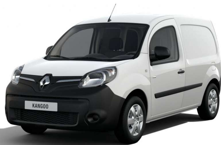 Gewerbe Leasing: Renault Kangoo Z.E. Elektro-Fahrzeug inkl. Batterie für 48,59€ mtl. (BAFA, LF: 0,12)