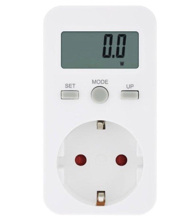Steckdose mit Stromzähler dank Gutschein für 7,24€ inkl. Versand