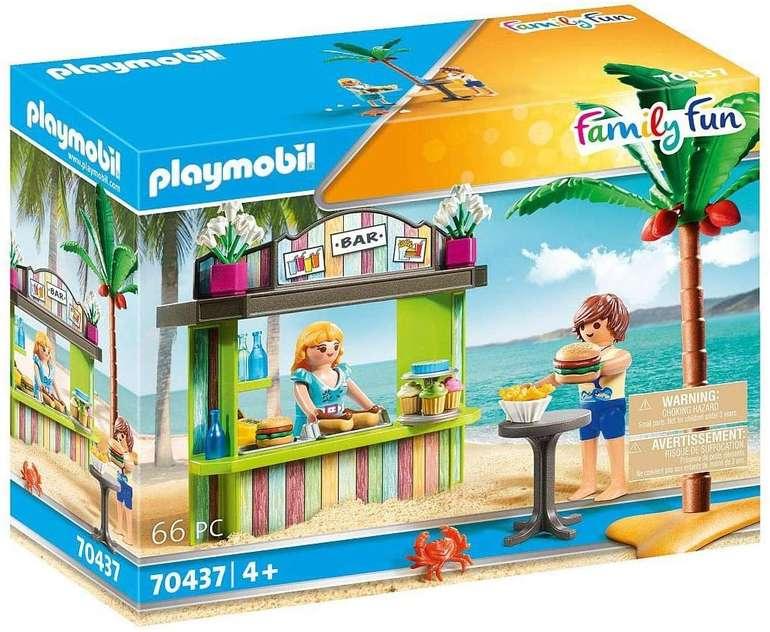 Playmobil Family Fun - Strandkiosk (70437) für 7,99€ inkl. Prime Versand (statt 17€)