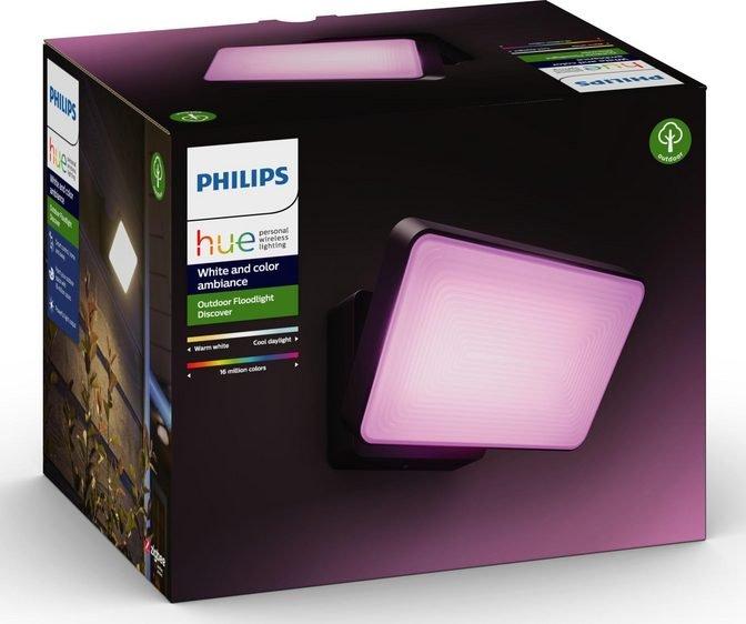 Philips Hue Discover LED Außen-Wandleuchte mit RGB für 101,99€ inkl. VSK (statt 114€)
