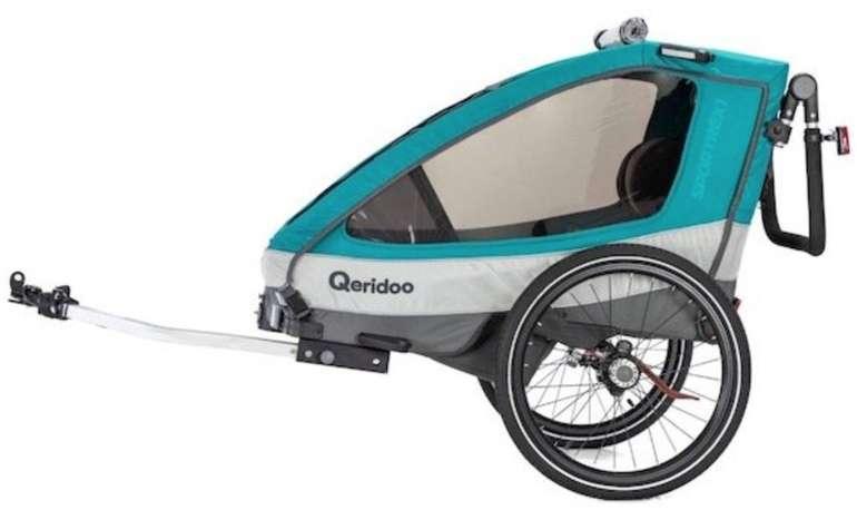 Qeridoo Fahrradanhänger Sportrex 1 (Modell 2019, Einsitzer) für 284,99€ inkl. Versand (statt 354€)