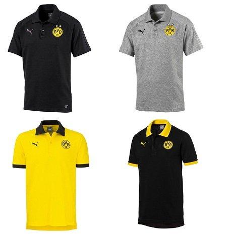 Puma BVB Poloshirts für Herren und Kinder für je nur 14,95€