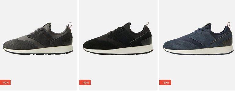 Mango Man 'P.E Runsock' Leder Sneaker