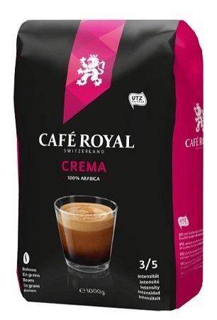 1kg Café Royal Crema Kaffeebohnen für 7,77€ inkl. Versand (statt 13€)