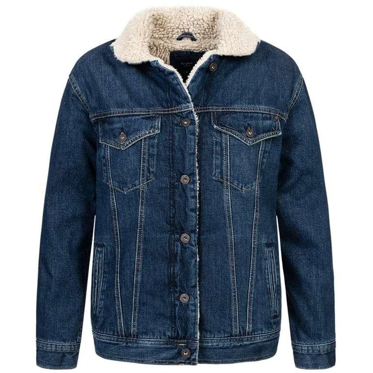 Pepe Jeans Damen Sherpa Jeansjacke für 37,94€ (statt 60€)