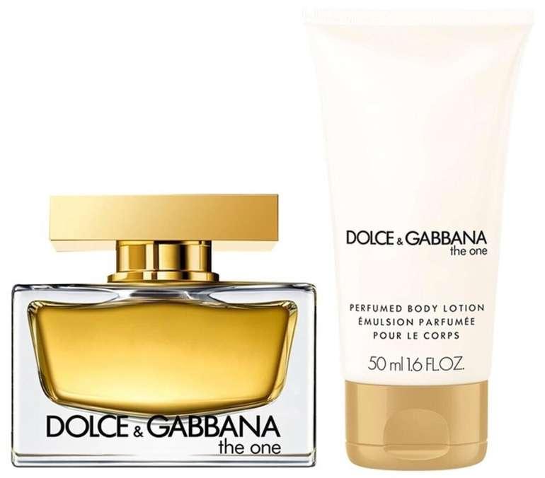 Dolce & Gabbana The One for Women Set (EdP 30ml + Bodylotion 50ml) für 34,99€ inkl. Versand (statt 44€)