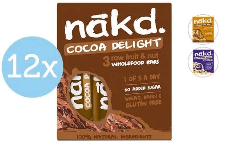 36er Pack NAKD Nussriegel (versch. Sorten) für je 18,90€ inkl. Versand (statt 42€)